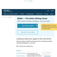Bibme - The fully automatic bibliography maker that auto ... |Bibme Works Cited