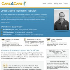 www Care-4-cars co uk - Mobile Mechanic Ipswich offering Car Service