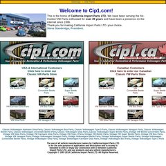 Www Cip1 Com All Classic Vw Aircooled Volkswagen Parts There are various cip1.com discount coupons available on valuecom.com, and some of which work in different ways. www cip1 com all classic vw aircooled volkswagen parts