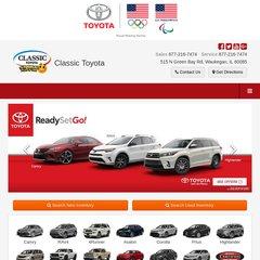 Classic Toyota Waukegan >> Www Classicdirecttoyota Com Toyota Waukegan Dealership