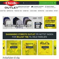 DanskOutlet.dk | Tøj til hele familien | Outlet online