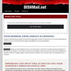 www Dishmail net - DISHMAIL : Login to your Google start page