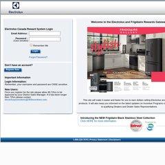www.Electroluxincentives.ca - Electrolux Canada Rewards System