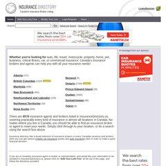 www.Insurancedirectory.ca - Canadian Insurance Broker and ...