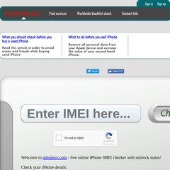 www Iphoneox com - iPhone IMEI checker online FREE