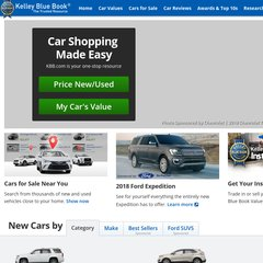 Kbb Com Cars Value >> Www Kbb Com Official Kelley Blue Book New Car And Used