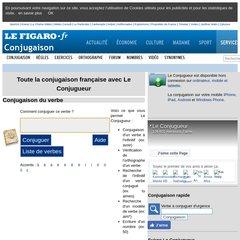 Www Leconjugueur Com Le Conjugueur Toute La Conjugaison Des