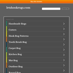 www.Letshookrugs.com - Let's Hook Rugs