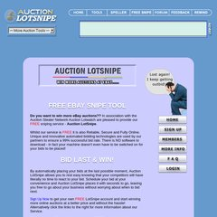 Www Lotsnipe Co Uk Free Ebay Auction Sniper