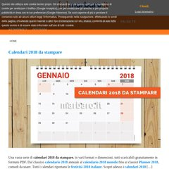 Calendario Marbaro.Applicazioni Excel Calendari Cartelli E Moduli Da Stampare