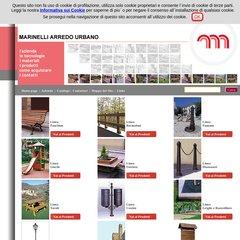 Marinelli Arredo Urbano Srl.Www Marinellig It Marinelli Arredo Urbano Srl Arredi Per Esterni
