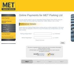 Met Parking Services >> Www Metpark Co Uk Online Payment Met Parking Services