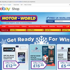 Www Motor World Co Uk Motor World Car Parts