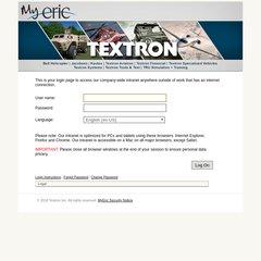 www Mytextron com - Textron Portal Select
