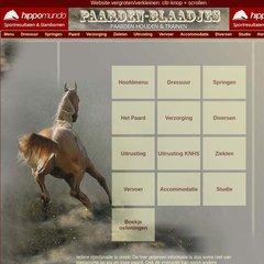 paarden blaadjes