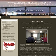 www Pass-the-test net - Louisiana Contractors License