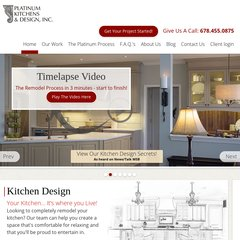Platinum Kitchen Design Atlanta   Kitchen Design