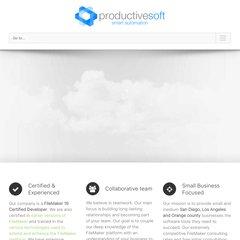 www Productivesoft com - Filemaker Consultants