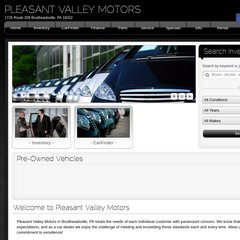 Pleasant Valley Motors >> Www Pvmcars Com Pleasant Valley Motors
