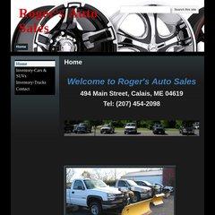 Rogers Auto Sales >> Www Rogersautosale Com Roger S Auto Sales