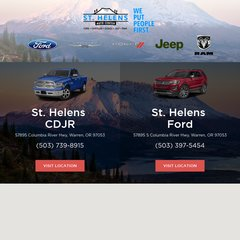 St Helens Auto Center >> Www Sthelensauto Com St Helens Auto Center Inc