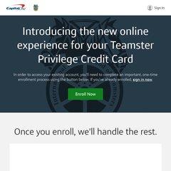 Teamstercard.com
