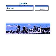 www Tytronics ca - Tytronics