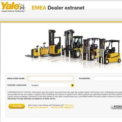 www Yaledealer com - Welcome to the Yale EMEA Dealer Extranet
